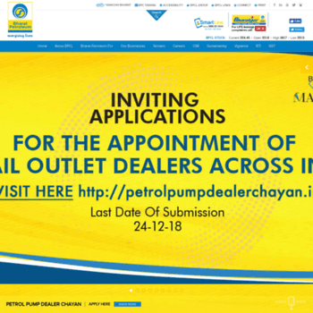 bpcl in at WI  Oil and Gas Companies in India | Corporate