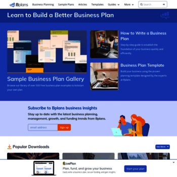 bplans com at wi bplans business planning resources and free