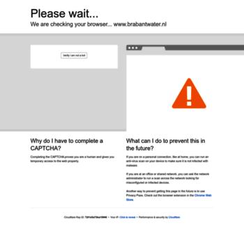 Brabantwater.nl thumbnail