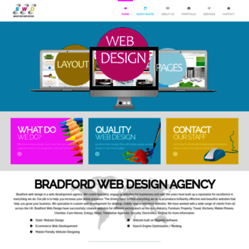 Bradford-webdesign.co.uk thumbnail