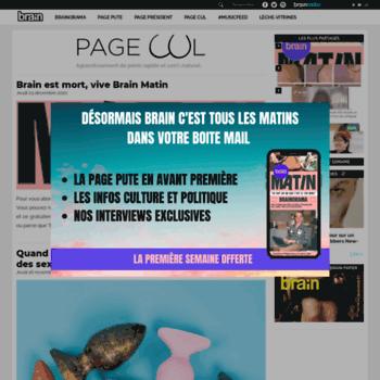Brain-page-q.fr thumbnail