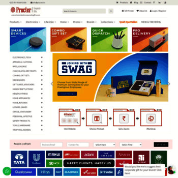 brandedcorporategift com at WI  Buy Unique Corporate Gifts