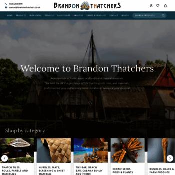 Brandonthatchers.co.uk thumbnail