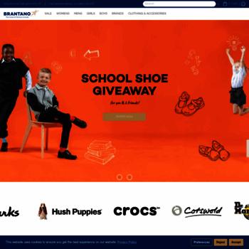 brantano.co.uk at WI. Brantano Official Online Site Hem  Home