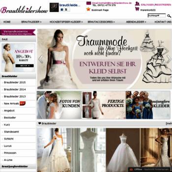 Brautkleidershow.de thumbnail