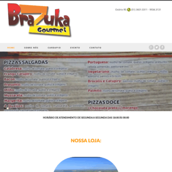 Brazukagourmet.com.br thumbnail