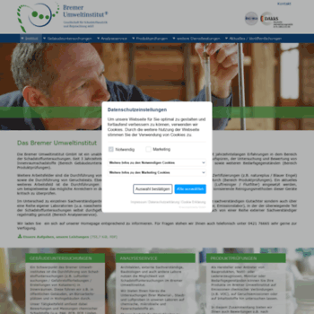 Bremer-umweltinstitut.de thumbnail