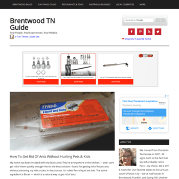 Brentwood.thefuntimesguide.com thumbnail