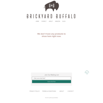 brickyardbuffalo com at WI  Brickyard Buffalo | Daily
