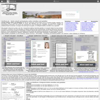 Briefformde At Wi Briefformde Kostenlose Musterbriefe Vorlagen