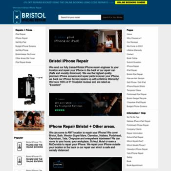 Bristoliphonerepair.co.uk thumbnail
