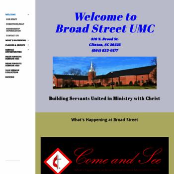 Broadstreet-umc.org thumbnail