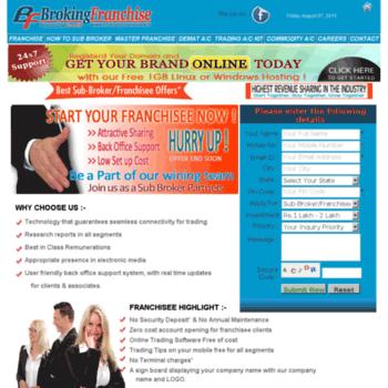 Brokingfranchise.net thumbnail