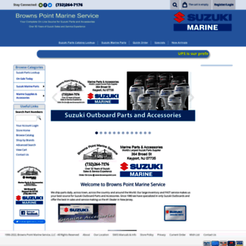 brownspoint com at WI  Suzuki Outboard Parts & Accessories - Browns