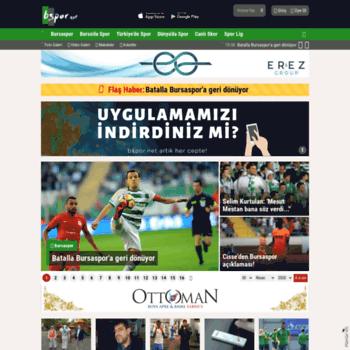 Bspor.net thumbnail