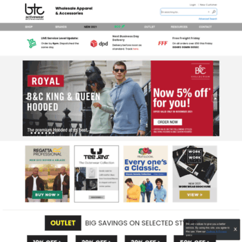 Btcactivewear.co.uk thumbnail