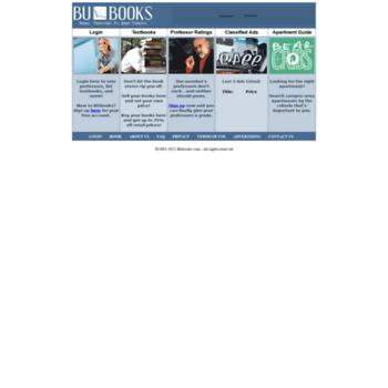 bubooks com at WI  Bubooks com - Textbook trading and
