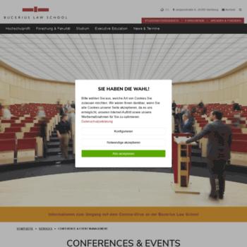 Bucerius-event.de thumbnail