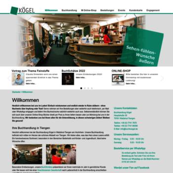 Buch-koegel.de thumbnail