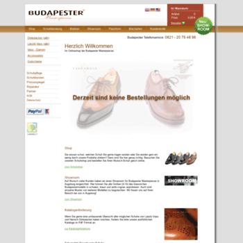 budapester-schuhe.de at WI. Budapester Schuhe ~ Heinrich Dinkelacker ... 403db74be7