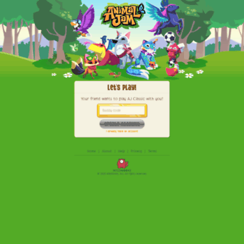 buddy animaljam com at WI  Animal Jam | Fun Online Animal Game