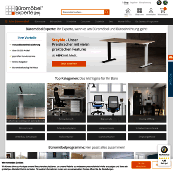 a4b509ed34850a bueromoebel-experte.de at WI. Büromöbel versandfrei online bestellen ...