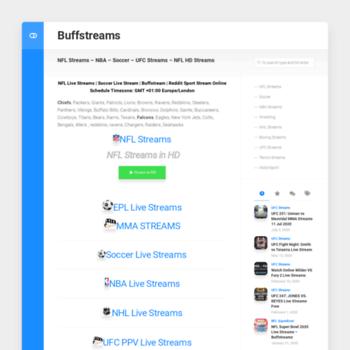 Buffstream.net thumbnail