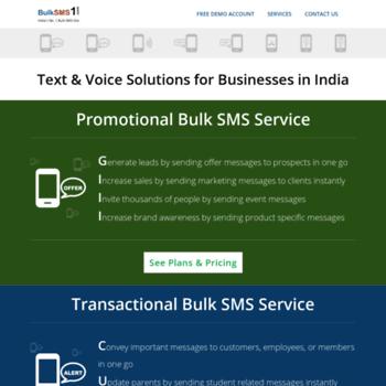 bulksms-service com at WI  Bulk SMS Service   Bulk SMS