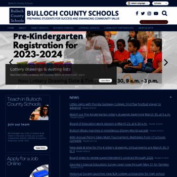 Bulloch.k12.ga.us thumbnail