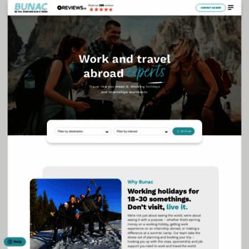 Bunac.org thumbnail