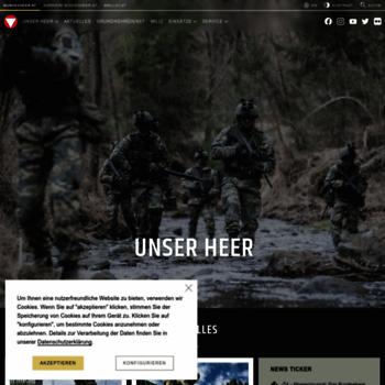 Bundesheer.at thumbnail