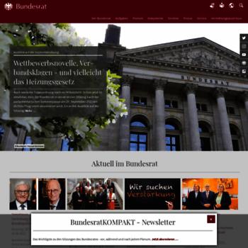 Bundesrat.de thumbnail