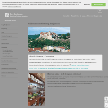 Burg-burghausen.de thumbnail