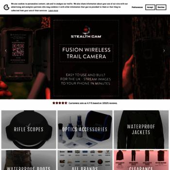Bushwear.co.uk thumbnail