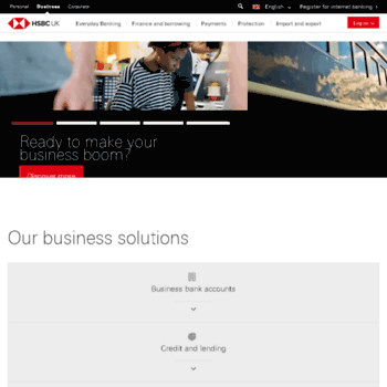 business hsbc co uk at WI  Open a Business Bank Account | Business