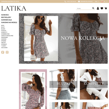 012a93c5d6 butiklatika.pl at WI. Sprzedaż odzieży online dla kobiet
