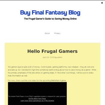Buy-ffxiv-gil.org thumbnail