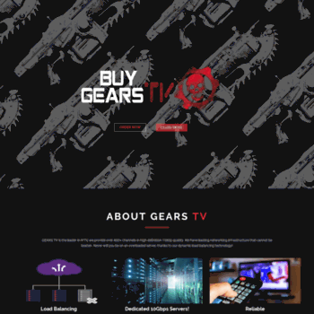 buygearstv com at WI  GEARS TV – Buy Gears TV