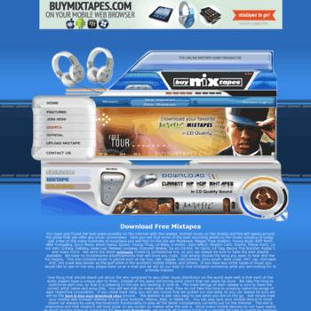 buymixtapes com at WI  Download Free Mixtapes | New Mixtapes