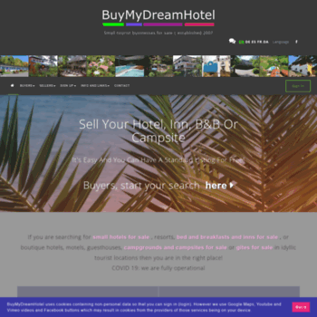 buymydreamhotel com at WI  Hotels for sale, Campsites for