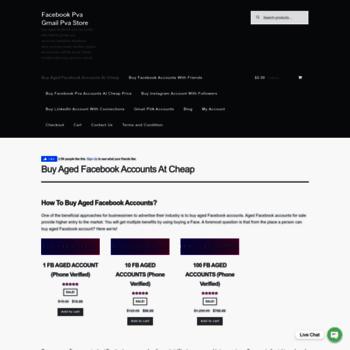 buypaidservices com at WI  Facebook Pva Gmail Pva Store