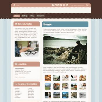 Веб сайт c25.doodlekit.com