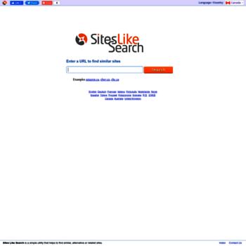 Ca.siteslikesearch.com thumbnail
