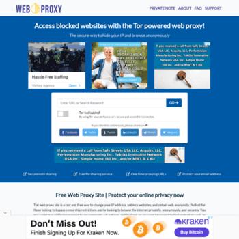Ca.weboproxy.com thumbnail