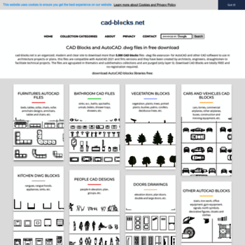 cad-blocks net at WI  CAD Blocks, free AutoCAD files  dwg
