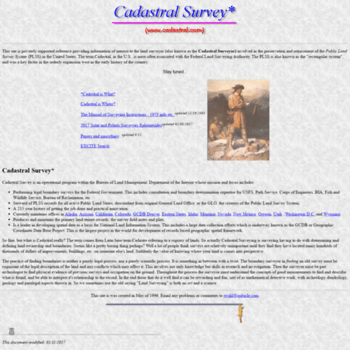 cadastral com at WI  Cadastral Survey Reference Page