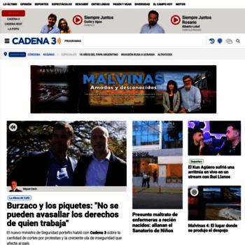 Cadena3.com.ar thumbnail