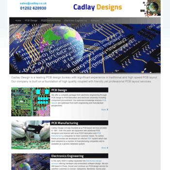 cadlay co uk at WI  PCB design bureau, high speed PCB layout