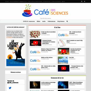 Cafe-sciences.org thumbnail