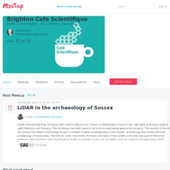 Cafe-scientifique-brighton.org.uk thumbnail